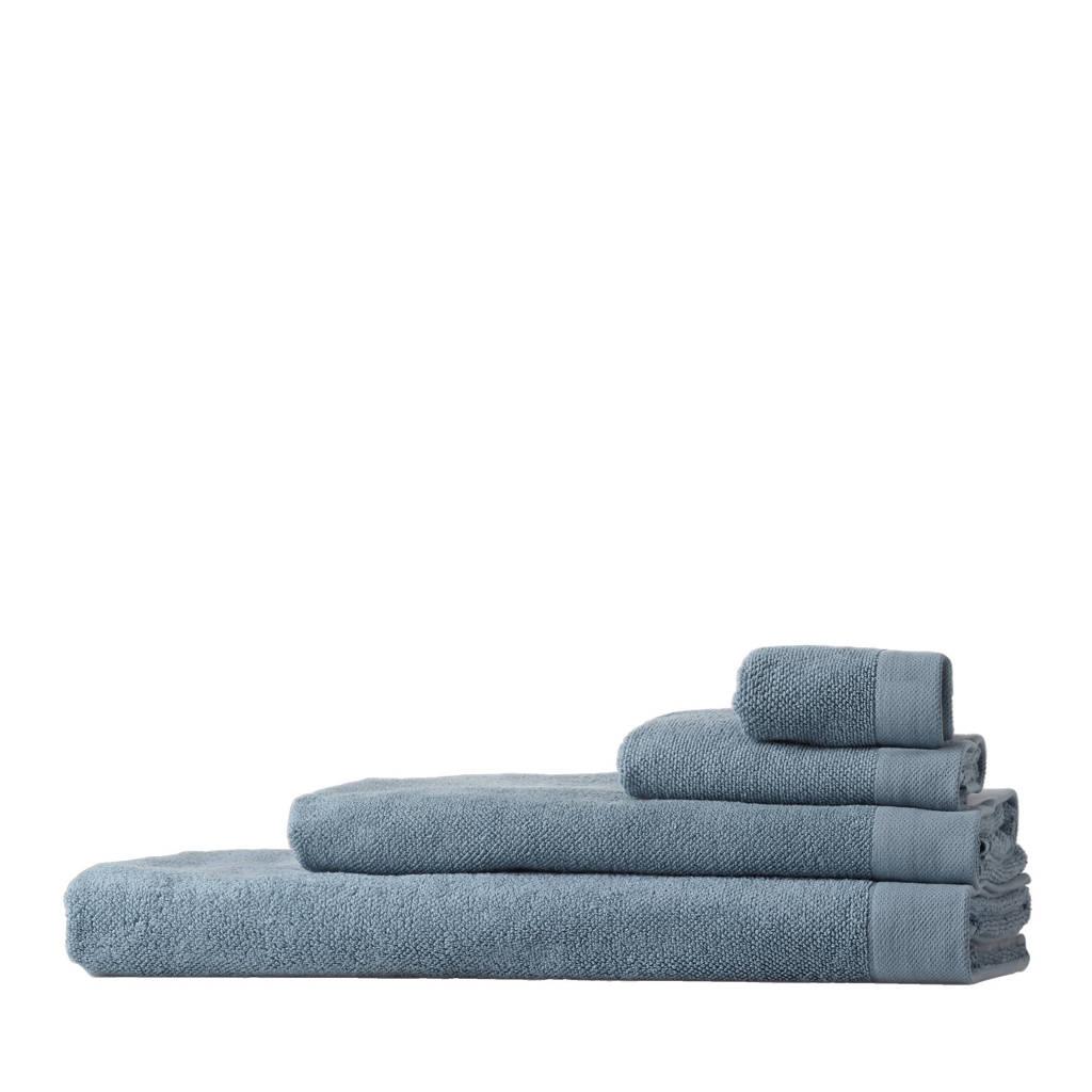 Vandyck handdoek, Blauw