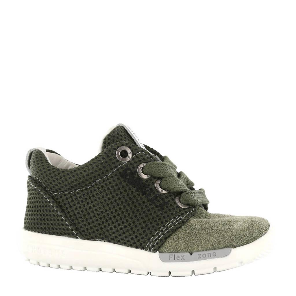 Shoesme leren sneakers, Groen
