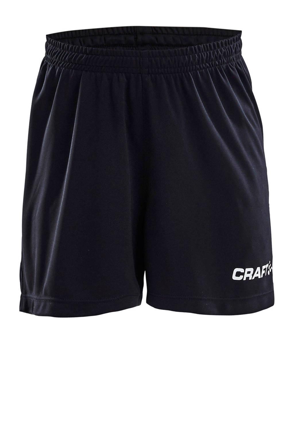 Craft Junior  sportshort zwart, Zwart