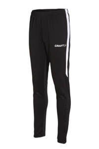 Craft Junior  sportbroek, Zwart/wit
