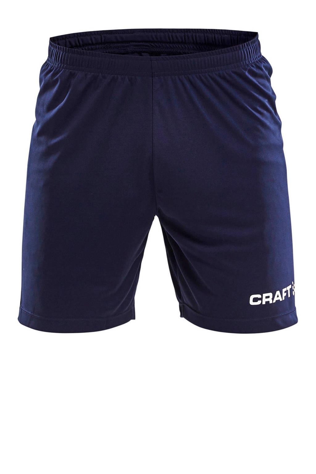 Craft Senior  sportshort, Donkerblauw