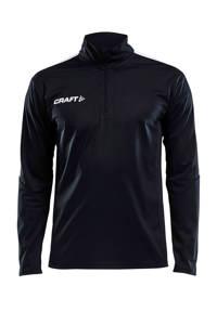 Craft Senior  sport T-shirt, Zwart/wit, Heren