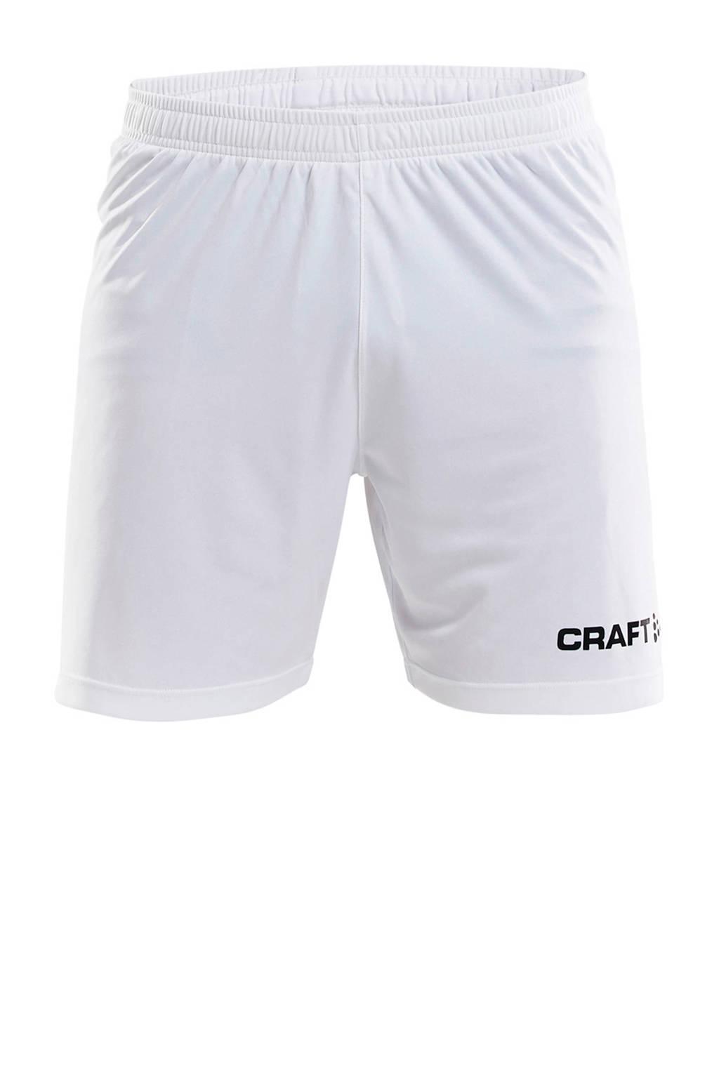Craft Senior  sportshort wit, Wit