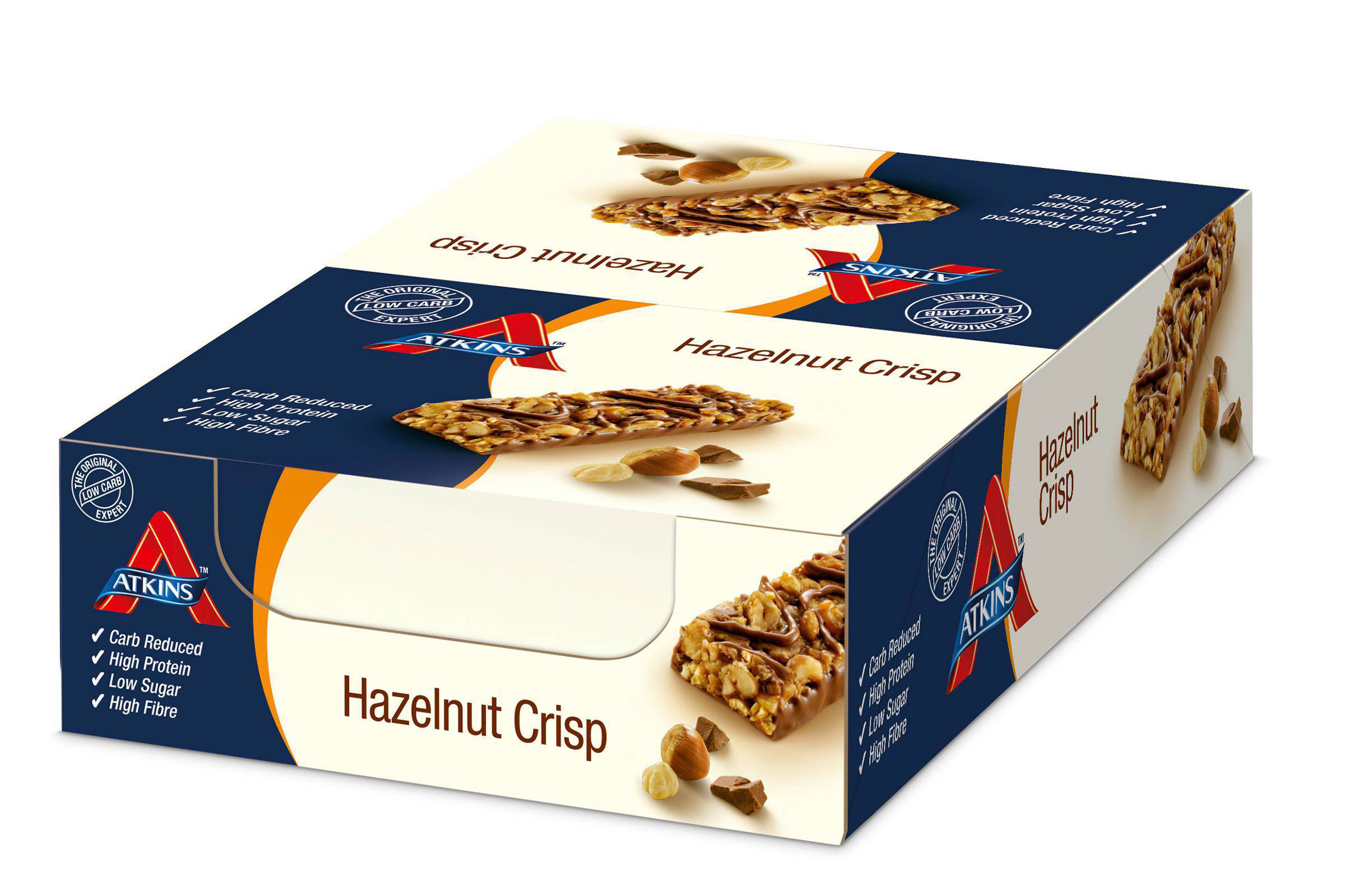 Atkins Hazelnut Crisp repen - 13+2 gratis