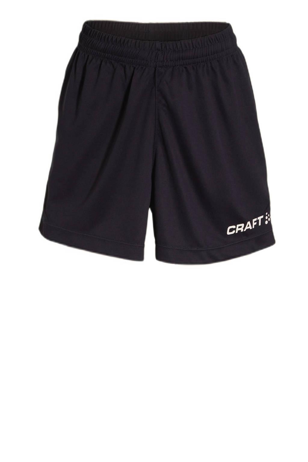Craft Junior  sportshort donkerblauw, Donkerblauw