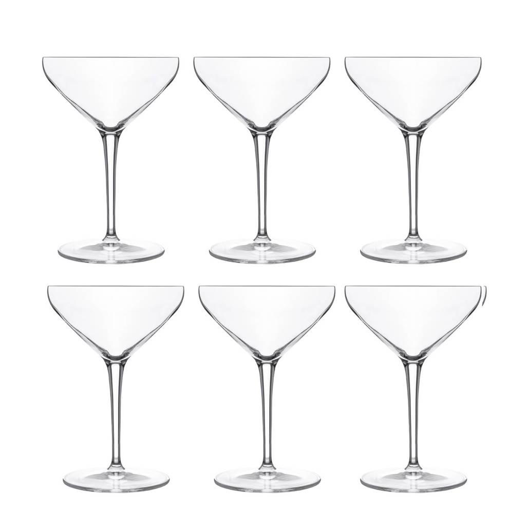 Luigi Bormioli Atelier cocktailglas (Ø11,5 cm) (set van 6), Transparanat