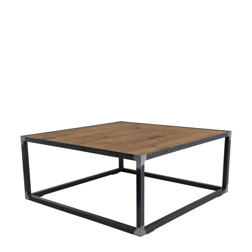 Spinder Design salontafel John, Donkergrijs, hout