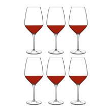 Atelier rode wijnglas (Ø9,1 cm) (set van 6)