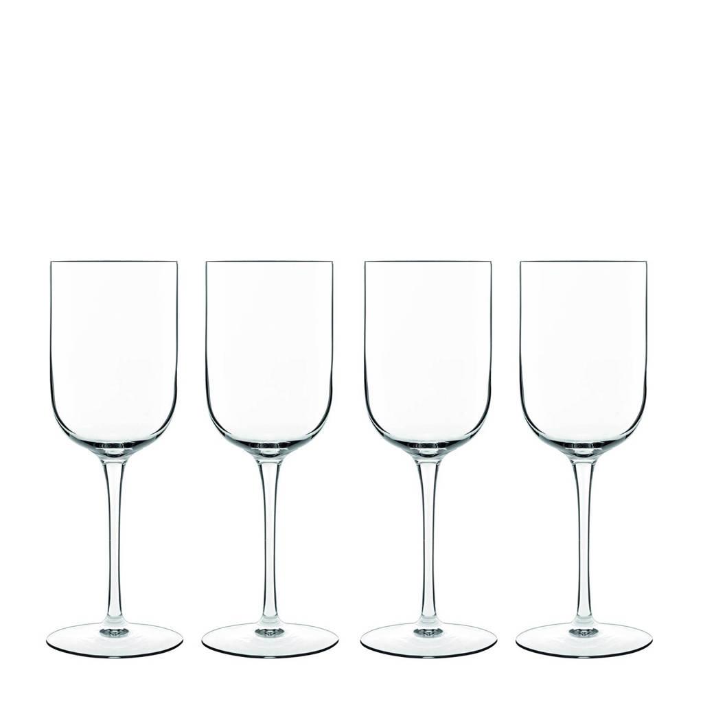 Luigi Bormioli Sublime witte wijnglas (Ø7,5 cm) (set van 4), Transparant