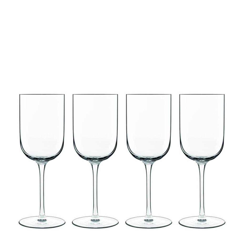 Luigi Bormioli Sublime rode wijnglas (Ø8 cm) (set van 4), Transparant