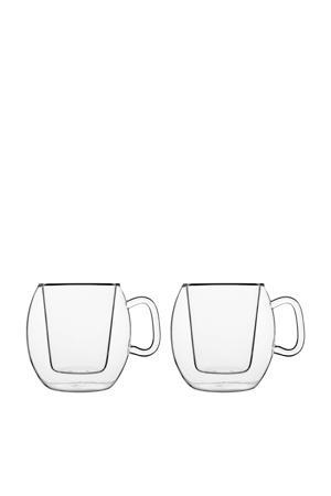 Thermic koffieglas (Ø10,6 cm) (set van 2)