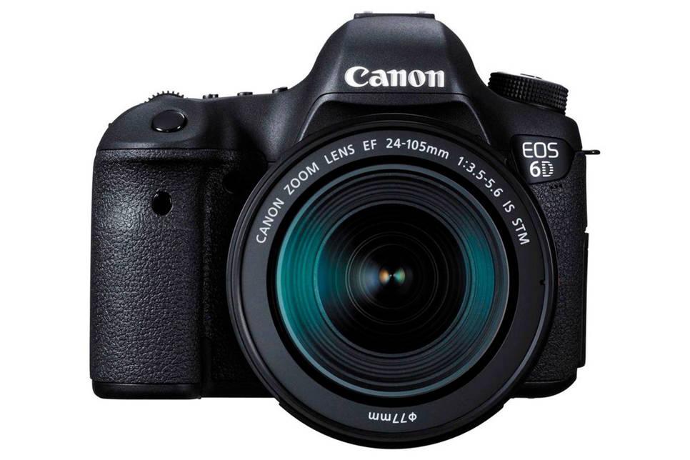 Canon EOS 6D + EF 24-105mm spiegelreflex camera