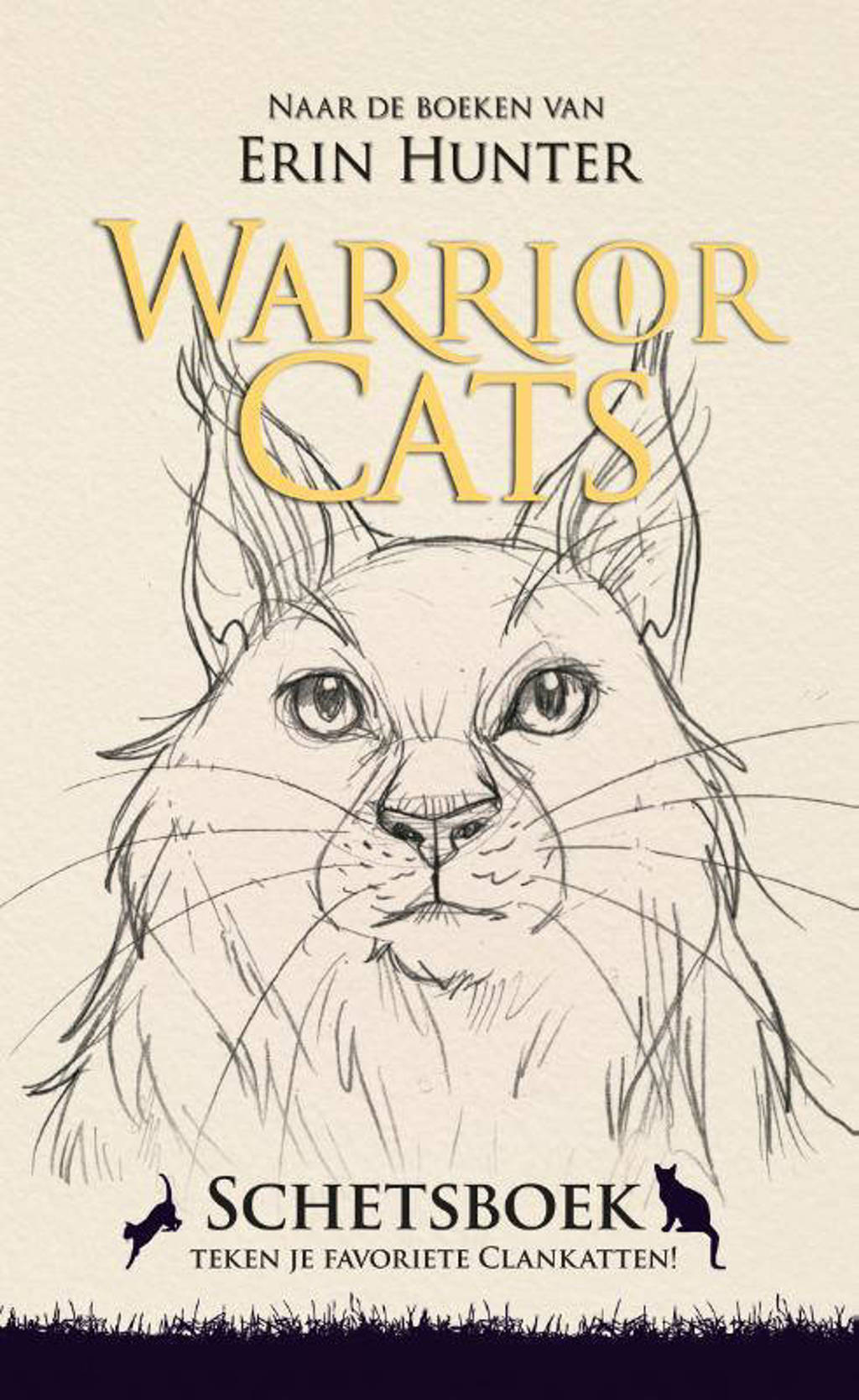 Warrior Cats: Warrior cats schetsboek - Frieda van Raevels