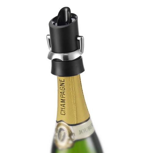 Vacuvin Champagne Opener Zwart