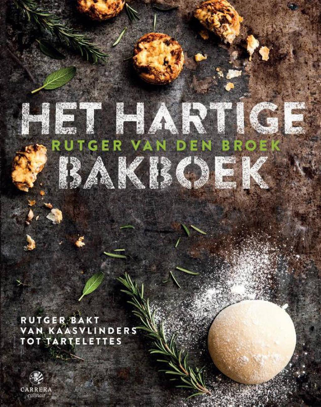 Het hartige bakboek - Rutger van den Broek