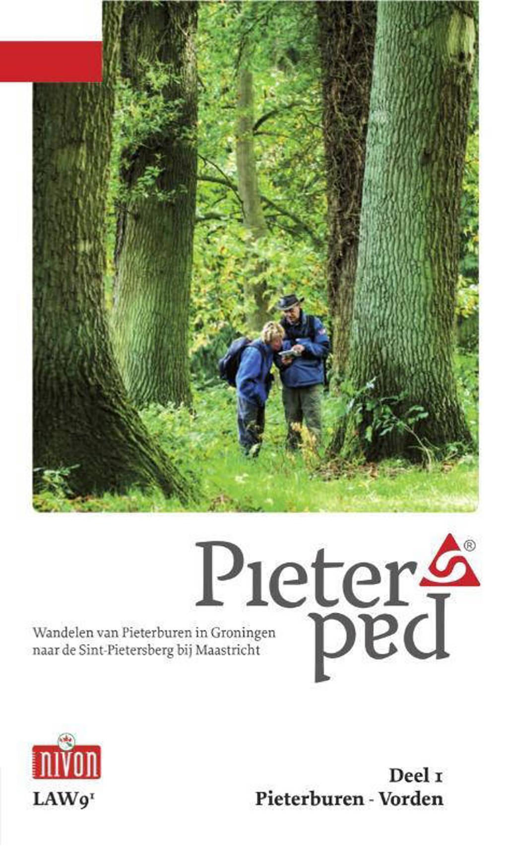 LAW: Pieterpad Deel 1 Pieterburen - Vorden - Maarten Goorhuis, Wim van der Ende en Kees Volkers