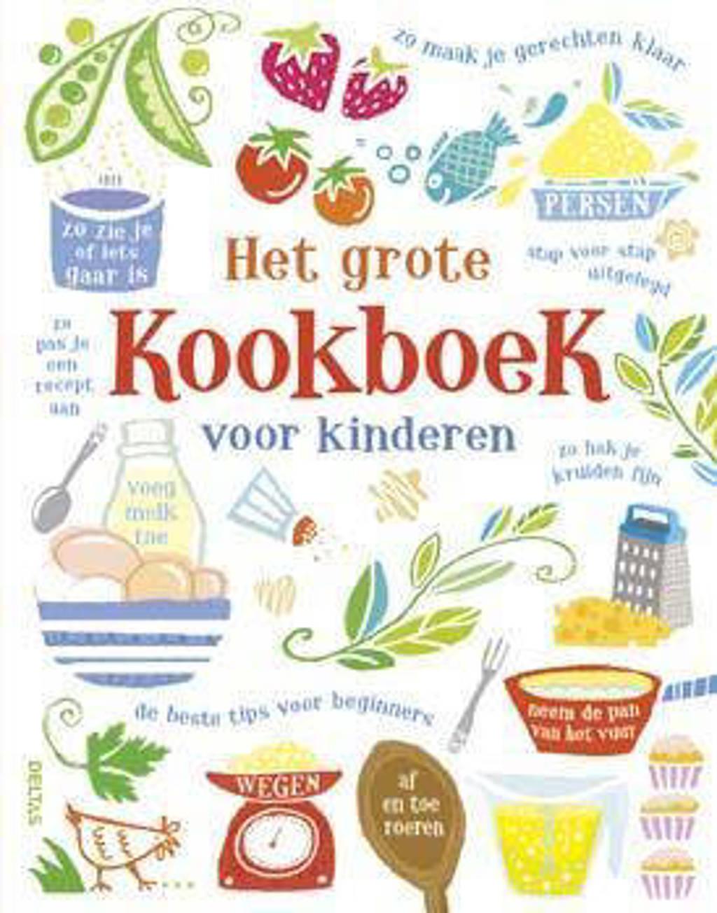 Het grote kookboek voor kinderen - Abigail Wheatley