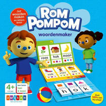 Rompompom: Woordenmaker 4-6 jaar