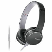 MDRZX660 on-ear koptelefoon zwart