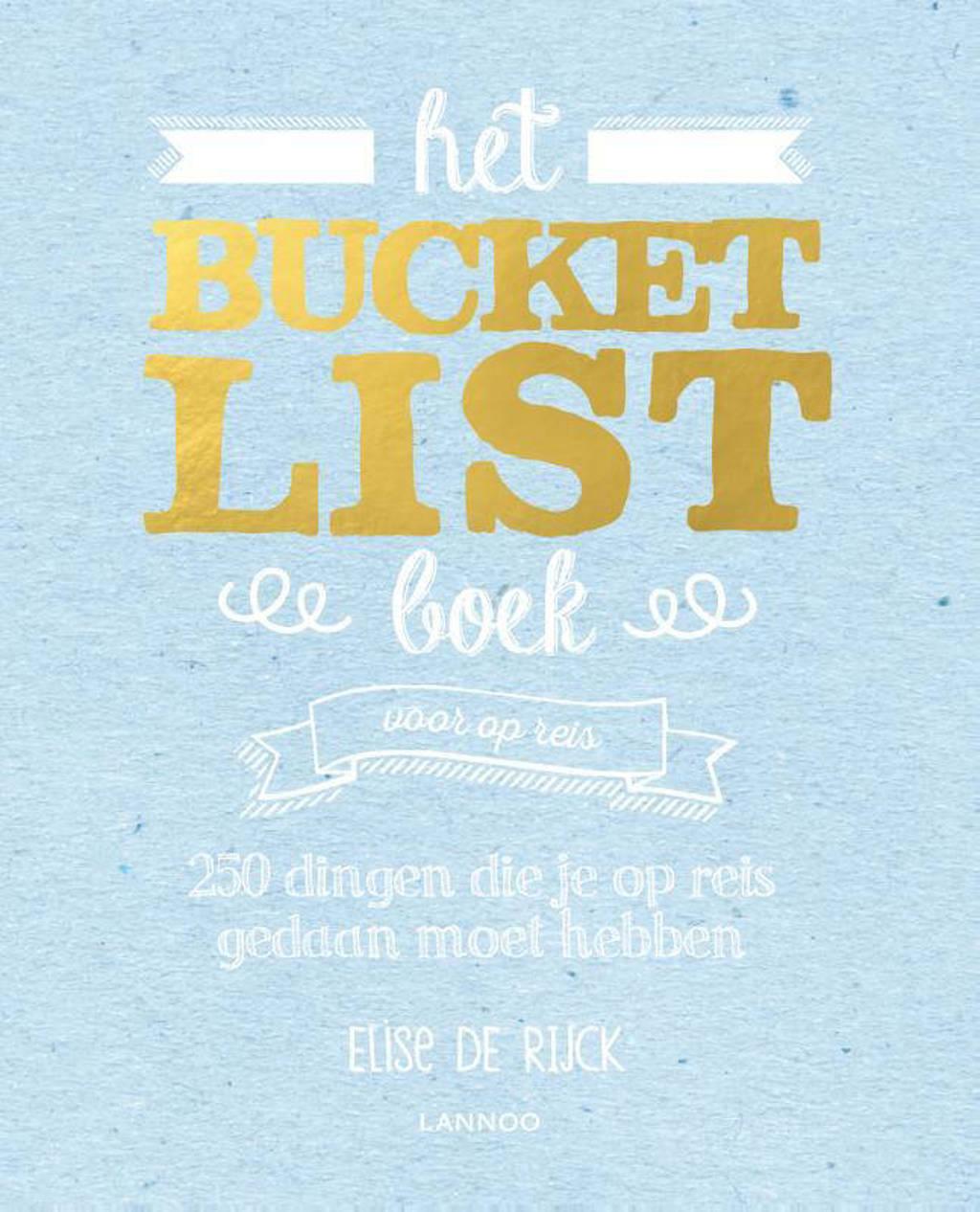 Het Bucketlist boek voor op reis - Elise De Rijck