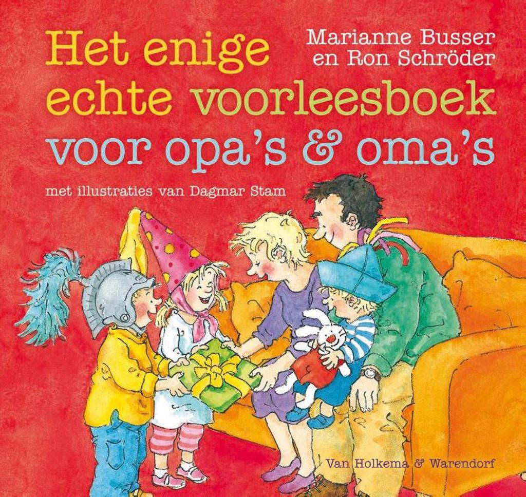 Enige echte voorleesboek voor opa's en oma's - Marianne Busser en Ron Schröder
