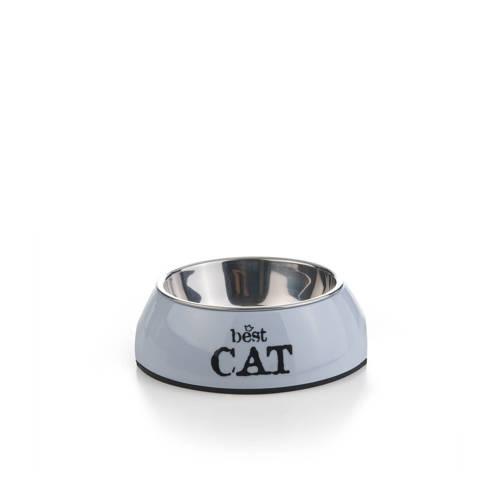 Best Cat melamine eetbak Grijs