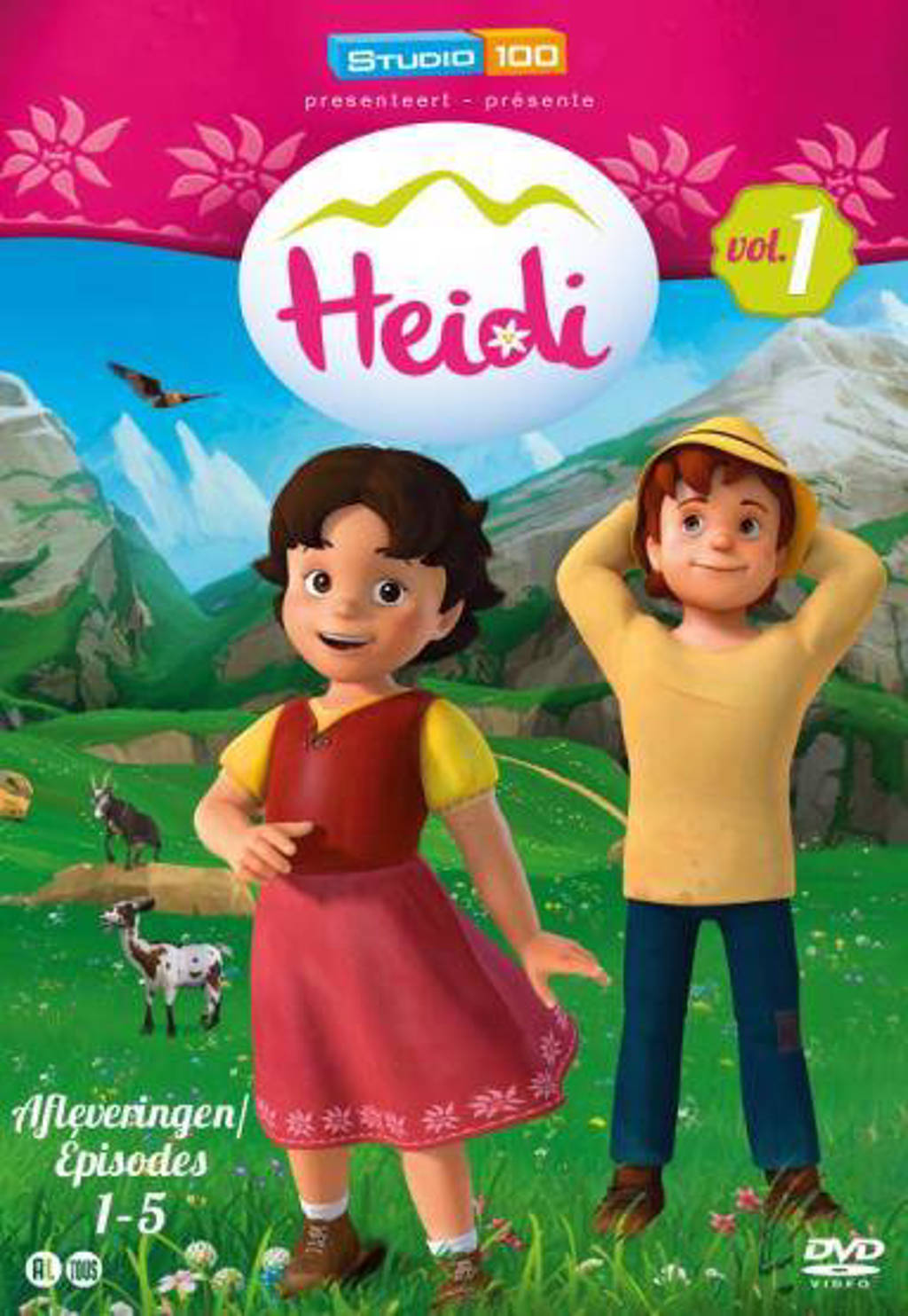 Heidi 1 - Afleveringen 1-5 (DVD)