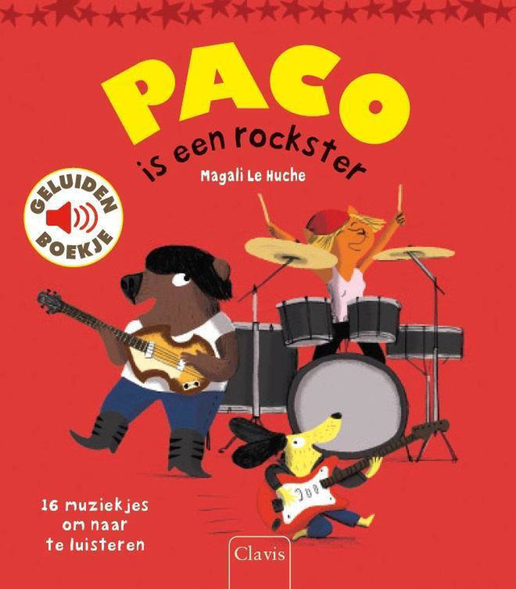 Paco is een rockster - Magali Le Huche