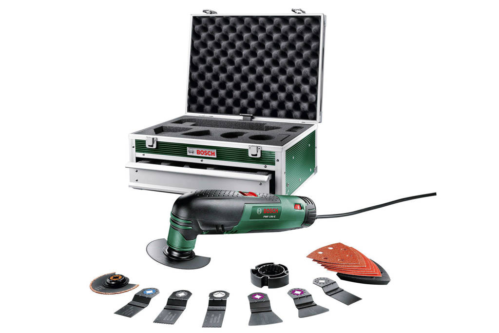 Bosch PMF 190 E elektrische multitool + accessoireset (16st)