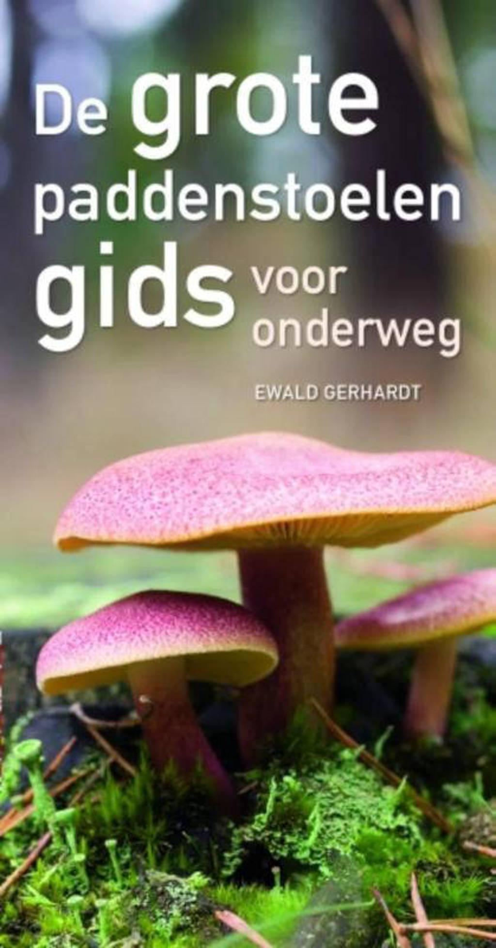 De grote paddenstoelengids voor onderweg - Ewald Gerhardt