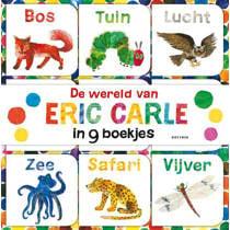 De wereld van Eric Carle in 9 boekjes gemaakt voor kleine handjes - Eric Carle