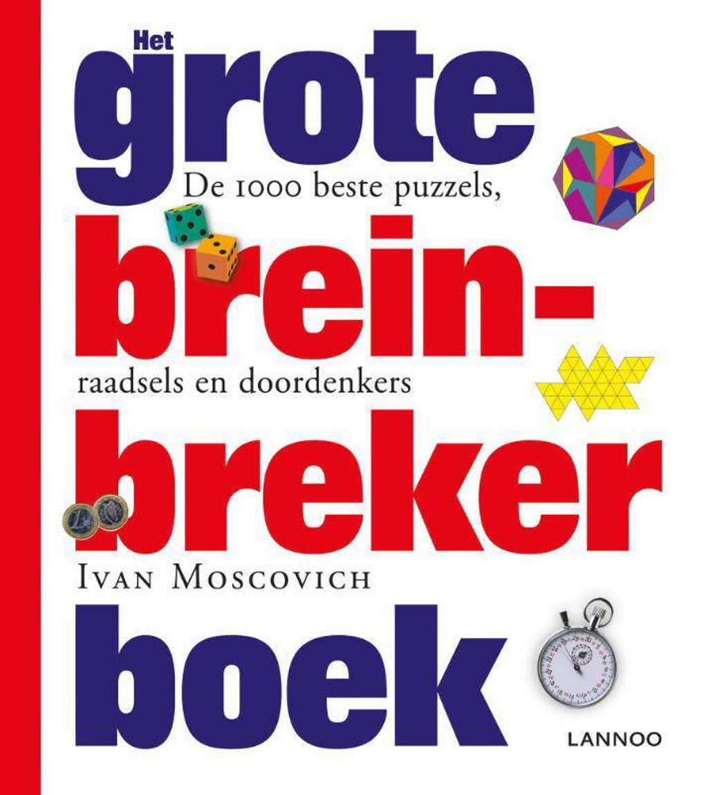 Het grote breinbreker boek - midprice - Ivan Moscovich