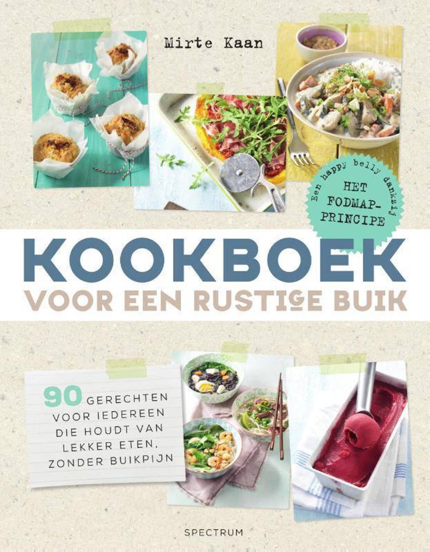 Kookboek voor een rustige buik - Mirte Kaan