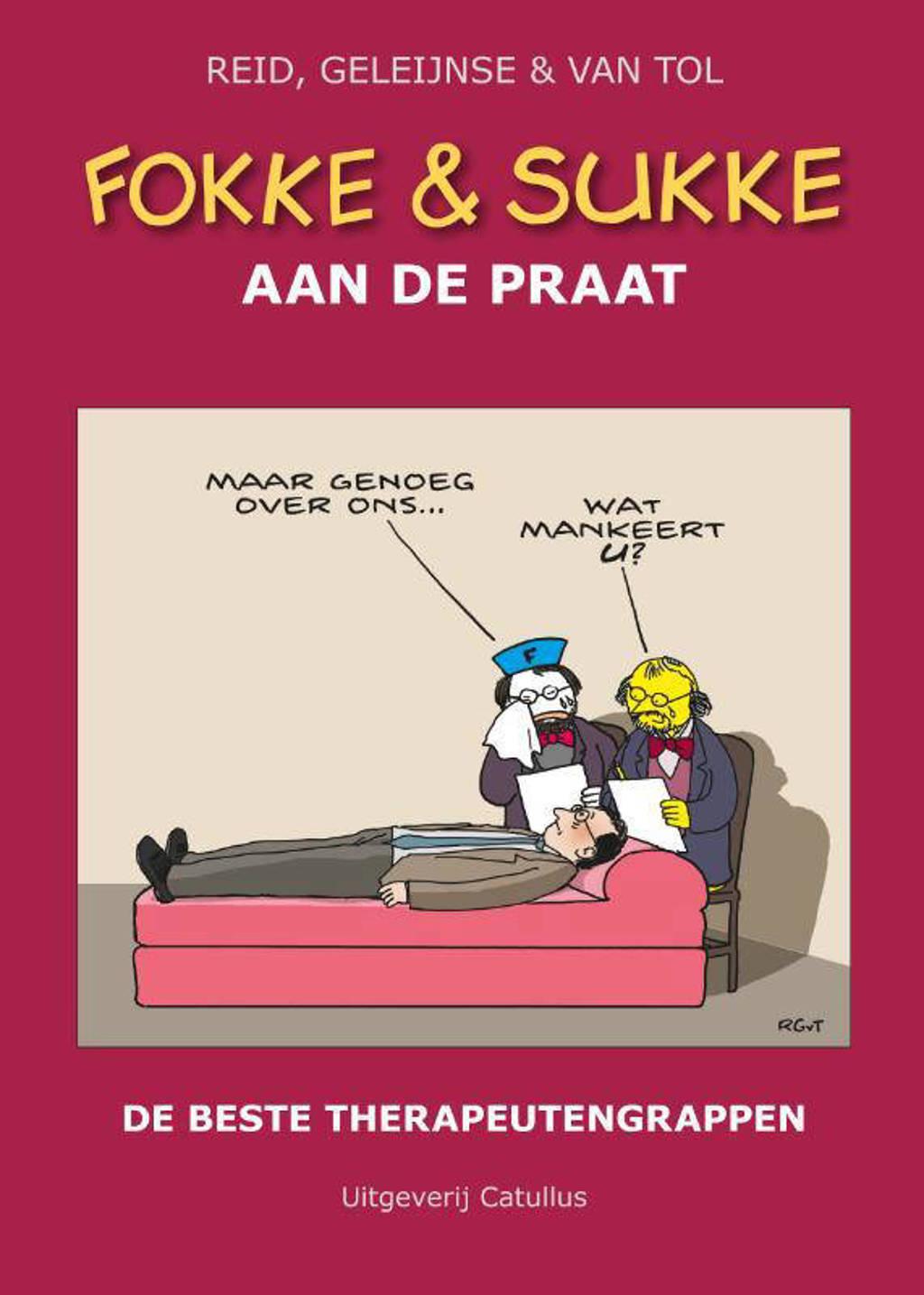 Fokke & Sukke: Aan de praat - John Reid, Bastiaan Geleijnse en Jean-Marc van Tol
