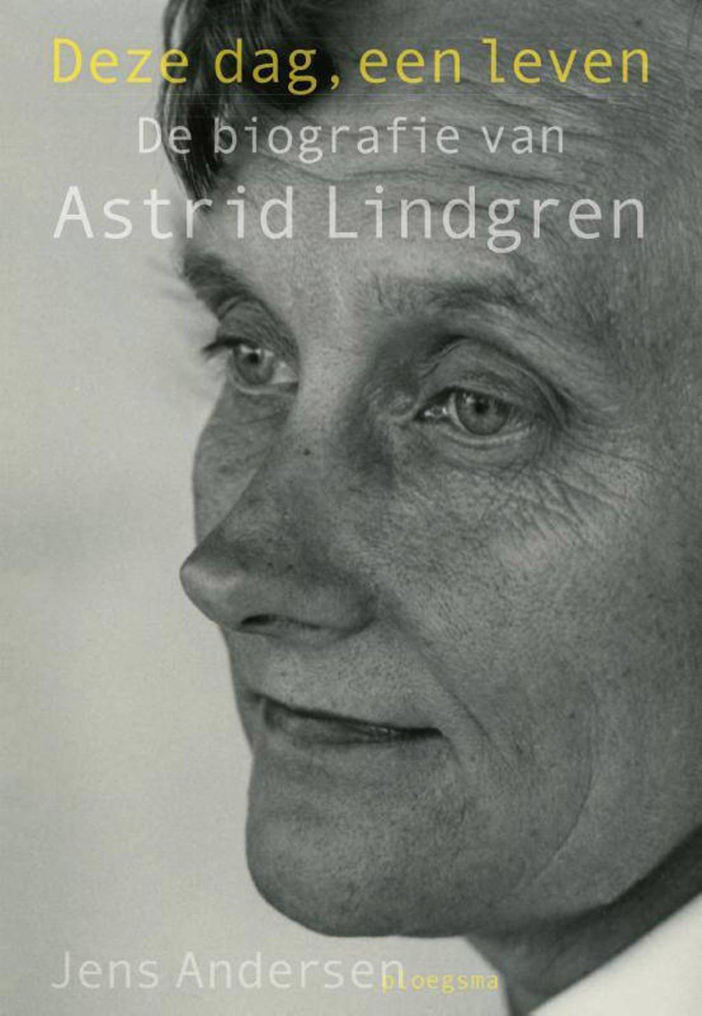 Deze dag, een leven - Jens Andersen