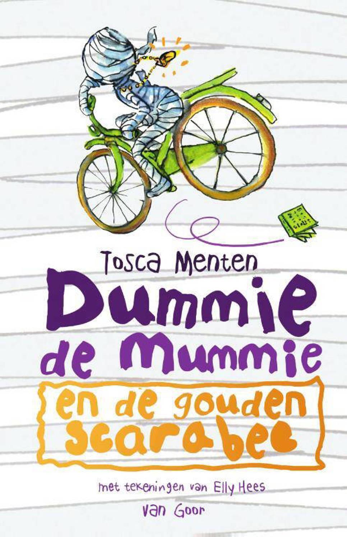 Dummie de mummie: Dummie de mummie en de gouden scarabee - Tosca Menten