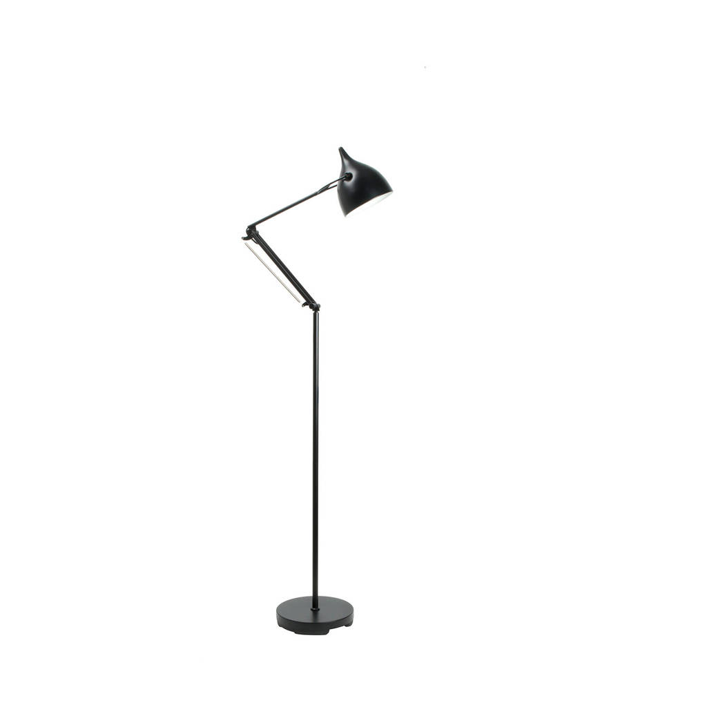 Zuiver Reader vloerlamp, Zwart