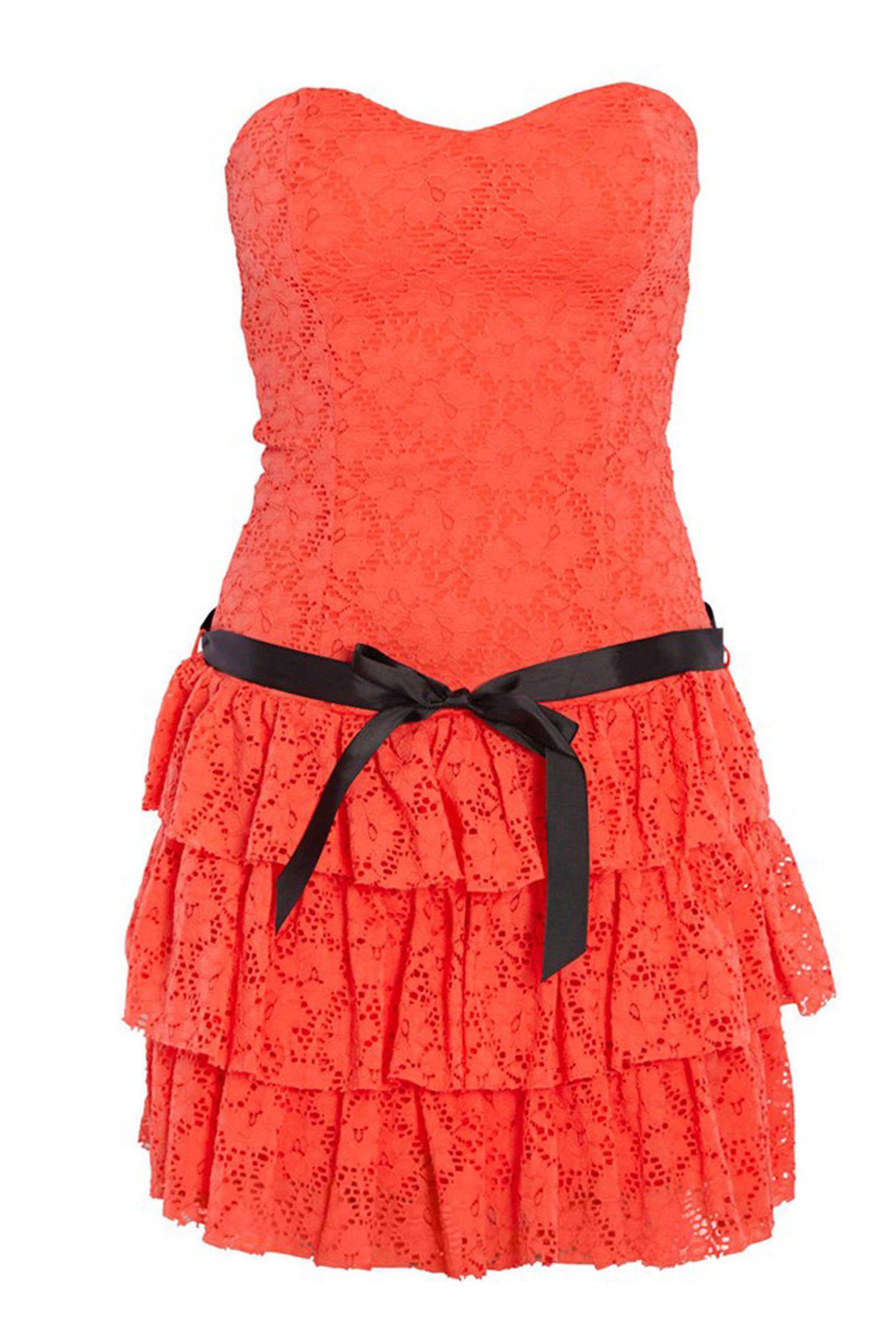215fa91149eef7 Morgan strapless jurk