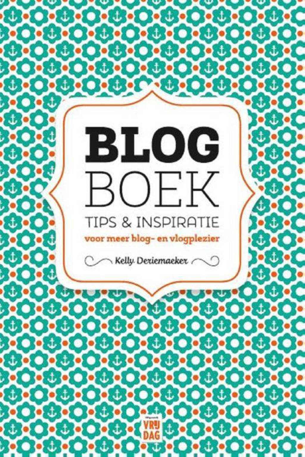 Blogboek - Kelly Deriemaeker