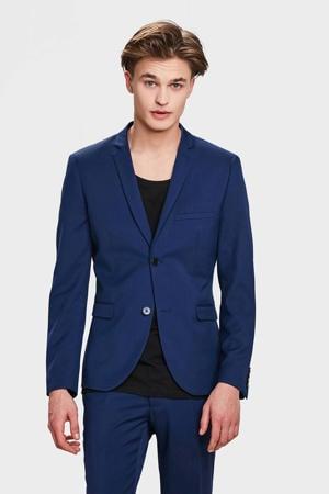 skinny fit colbert blauw