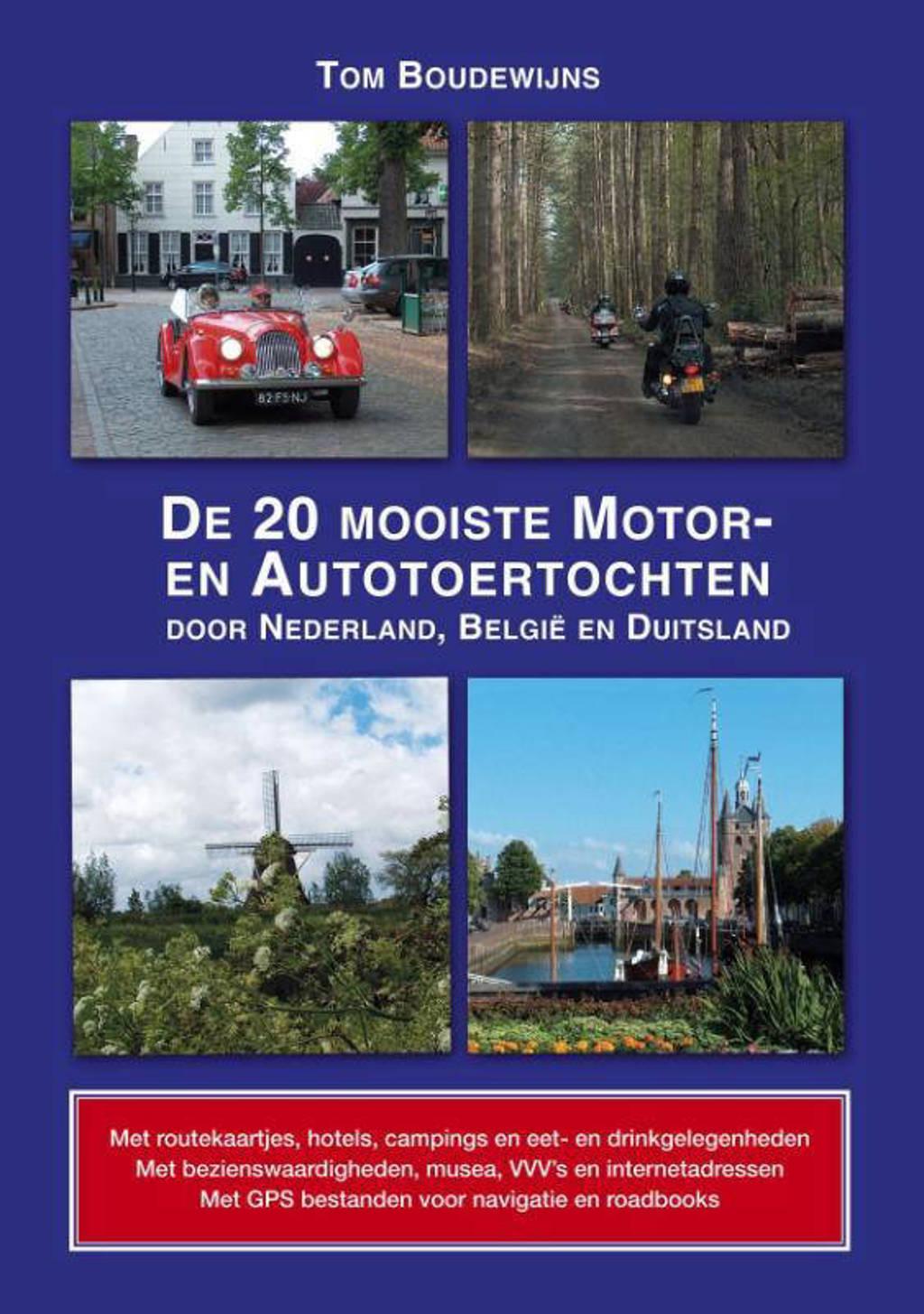 De 20 mooiste motor- en autotoertochten - Tom Boudewijns