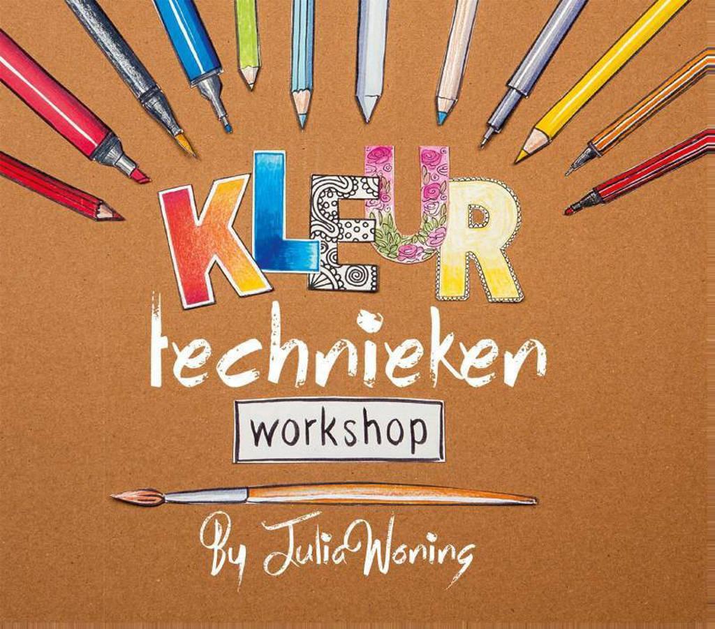 Kleurtechnieken workshop - Julia Woning