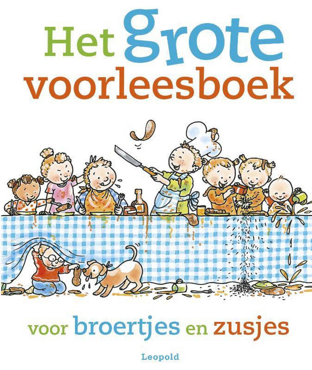 Het grote voorleesboek voor broertjes en zusjes