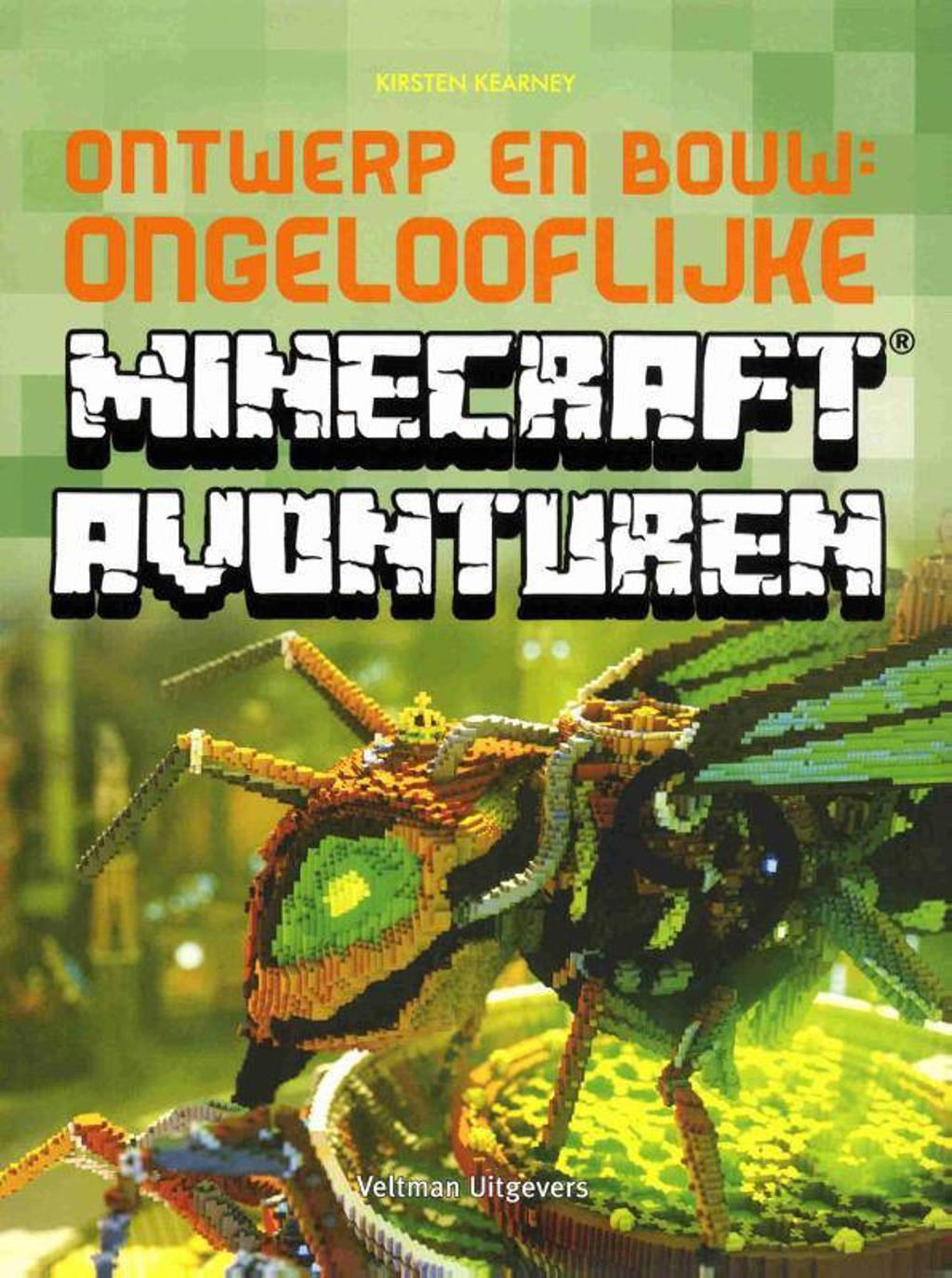 Ontwerp en bouw: ongelooflijke Minecraft avonturen - Kirsten Kearney