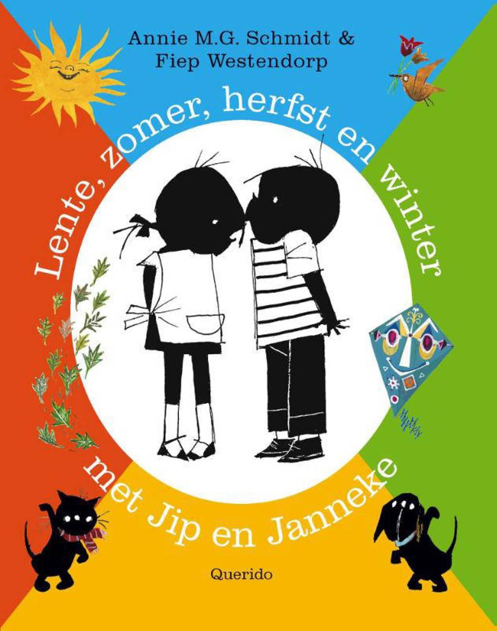 Lente, zomer, herfst en winter met Jip en Janneke - Annie M.G. Schmidt