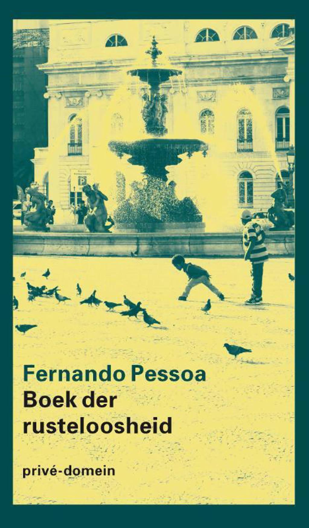 Boek der rusteloosheid - Fernando Pessoa
