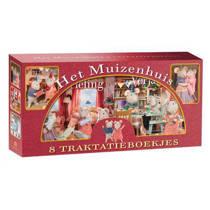 De Muizenhuis Traktakiebox, 4 x 2 kartonnen uitdeelboekjes over Sam en Julia - Karina Schaapman