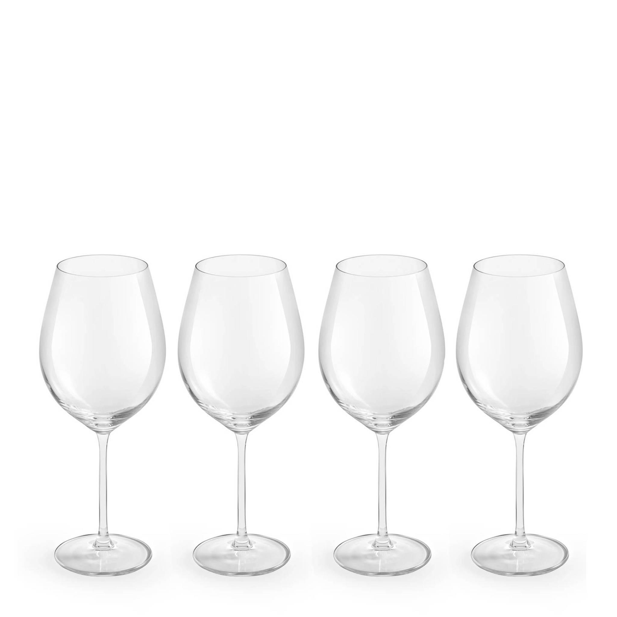 Royal Leerdam Wijnglazen.Royal Leerdam Finesse Enology Rode Wijnglas Set Van 4 Wehkamp