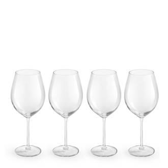 Enology rode wijnglas (set van 4)