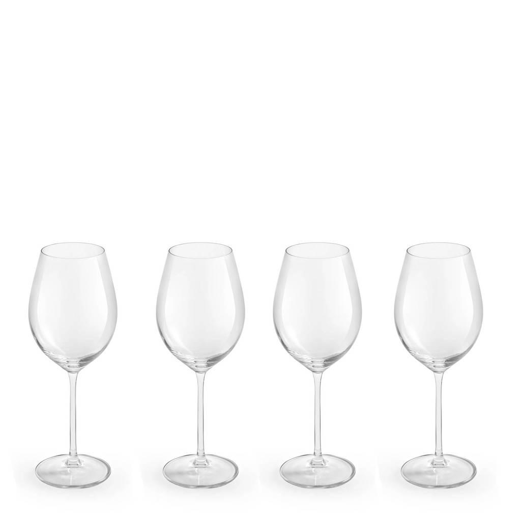 Royal Leerdam Finesse Enology witte wijnglas (set van 4), Transparant